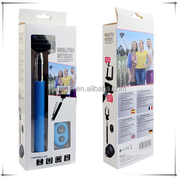 selfie stick monopod z07 1 wireless monopod selfie stick with bluetooth shutter button remote. Black Bedroom Furniture Sets. Home Design Ideas