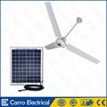 Nova chegada 12v ventilador de teto dc ac peças/dc dupla finalidade de ventiladores de teto ventilador de teto solar da bateria