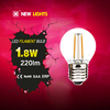 chinese haining best selling g45 2w e27 led bulb ceramic housing