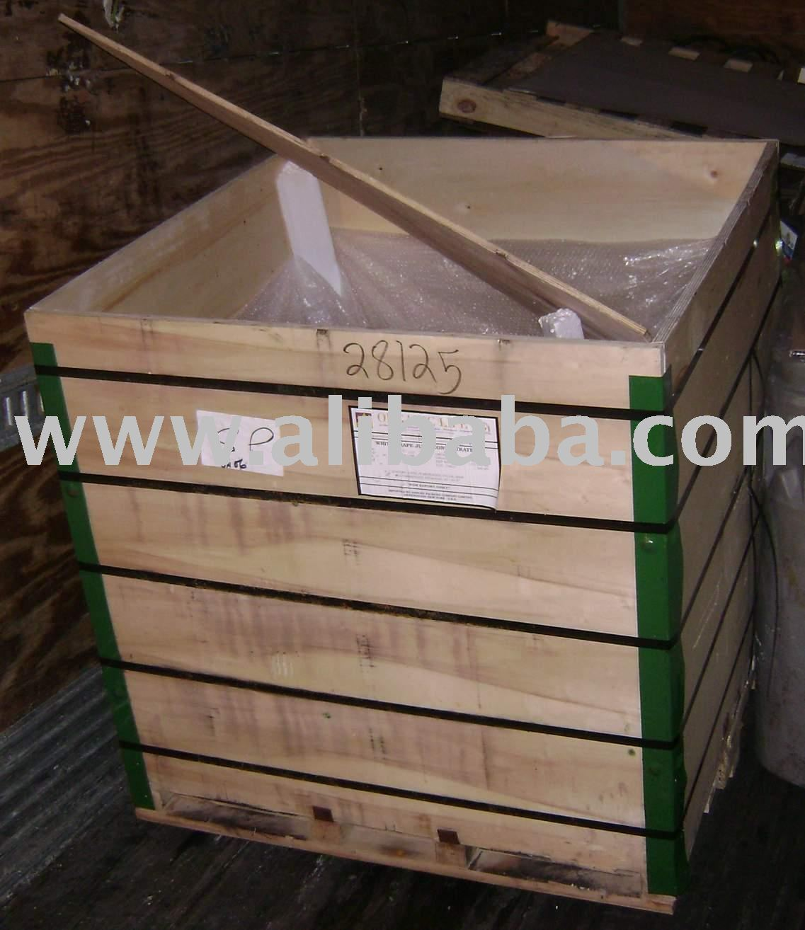 used wooden crates