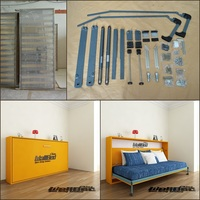 single size wall bed hidden wall bed mechanism