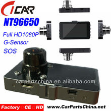 "NT96650, 3"" TFT 5Mega Pixels G-sensor Best Night Vision Full HD 1080p Car Accessories Dubai"