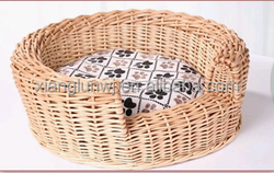 Manufacture new degin wicker unique dog kennel or basket