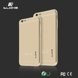Ultrathin Mobile Phone Case For iPhone 6 inch TPU Cover cases For iPhone 6 Plus 5.5 inch slim design Dlons