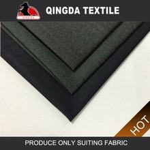 w587 qingda textil brillante nuevo diseño de la india para las telas de negocios tr traje de tela