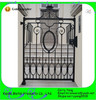 Chinses Manufacturer Popular Swing Open Garden Ornamental Wrought Iron Gates