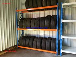 China adjustable famous manufacturer powder coating car tire racking system
