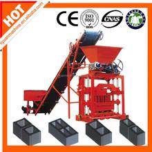 Low cost QT40-1manual brick machine for myanmar