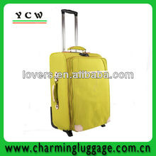 Kids 1680D polyester travel trolley luggage bag