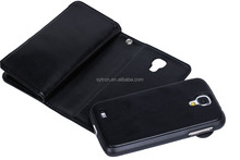 Waterproof magnetic wallet flip smart phone cover case for samsung galaxy pocket