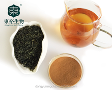 Organic Green tea extract 70% Catachine EGCG For Cosmetics supplements
