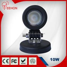 "Auto assembly head lamp 10W LED auto light offroad 3"" round headlight"