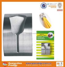 hot sale adhesive metal towel holder