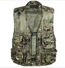 New Outdoor Sports Spring Summer Fishing Hunting Vest