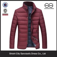 New Design Fashion Coat Suit Men, High Quality Padded Winter Coats For Men