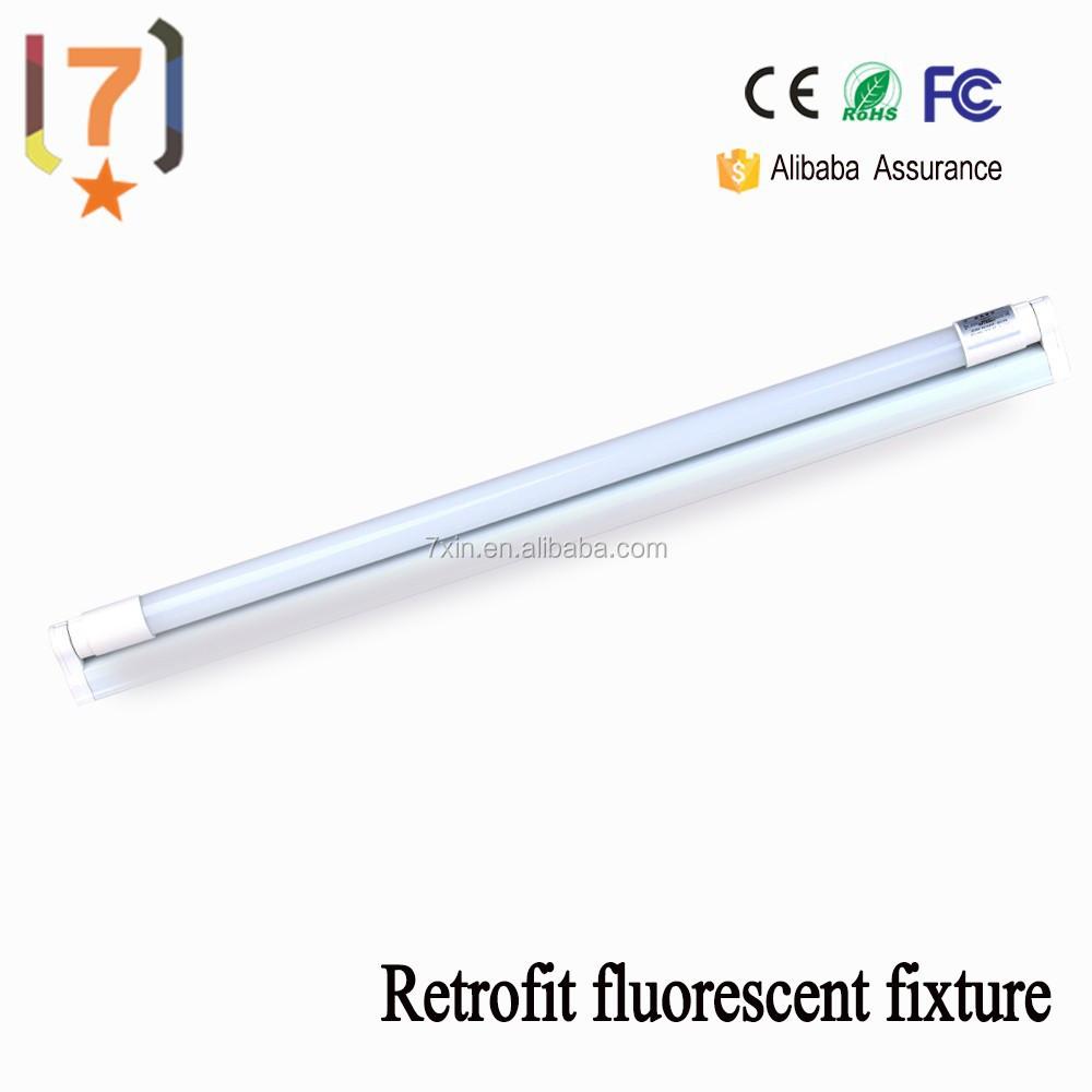 wholesale retrofit fluorescent fixture led tube lighting t8 9w 600mm