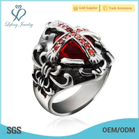 Trendy style spikes stainless steel ring,silver ring designs women 2012