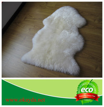 High quality sheepskin rug/long hair sheepskin rug