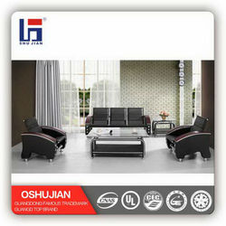 Classic Chinese sofa model with PU cover SJ827