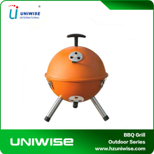 12 inch Mini Round Portable Kettle Charcoal BBQ grill for outdoor