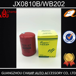Factory wholesale Auto Spare Parts JX0810 oil filter for Mitsubishi in oil lubrication system