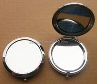 OEM, ODM Novelty Portable Round Cosmetic Mirror Hand pocket mirror SCM15024