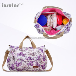 Antibacterial Encryption Diaper Bag For Girls Made By Cotton Cloth