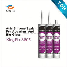 Excellent adhesion elastomeric silicone sealant wholesale Kingfix S805