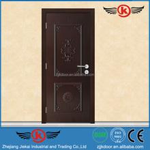 JK-HW9203 Nigeria Teak Wood Room Door Design