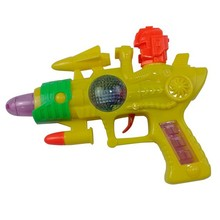 com luz e voz tiro inércia plástico arma de brinquedo