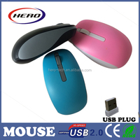 2015 for traveller use computer optical mouse 2.4GHz cordless mouse