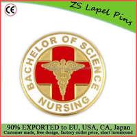 Custom made Bachelor of Science Nursing BSN Lapel Pin