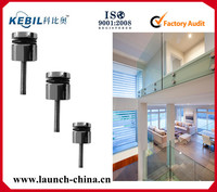 fix into bricks or concrete frameless glass balcony fittings standoff SF-50