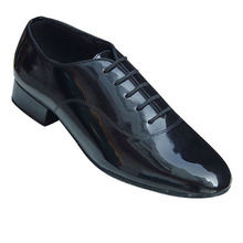 Genuine leather upper material and out sole 2.0cm heel shoes men dance ballroom