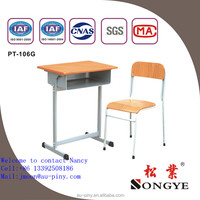 double professional classroom student desk and chair furniture