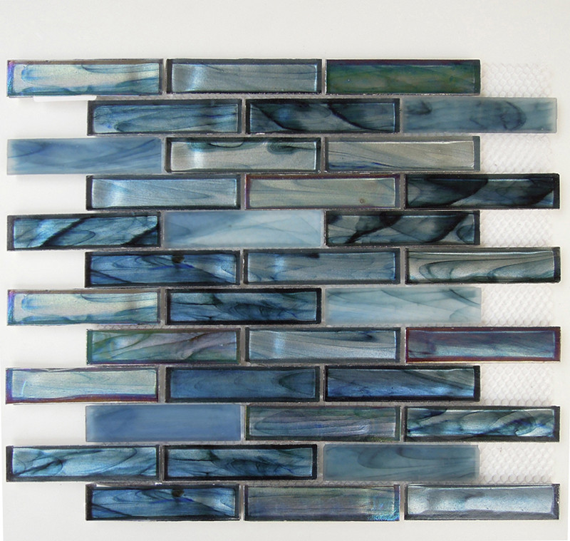 New Design Recycled Glass Mosaic Glass Tiles For Bathroom Kitchen Tiles View Tile Kitchen Glass
