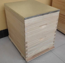 New Zealand pine wood 2 layer Australian langstroth bee hive