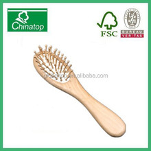 Natural Bristles Massage Comb Hair Brush Wooden Comb WMC026