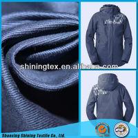women's snowboard jacket PA coated cotton twill fabric