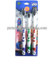 Happy Family father,mother and child 3pcs toothbrush group pack