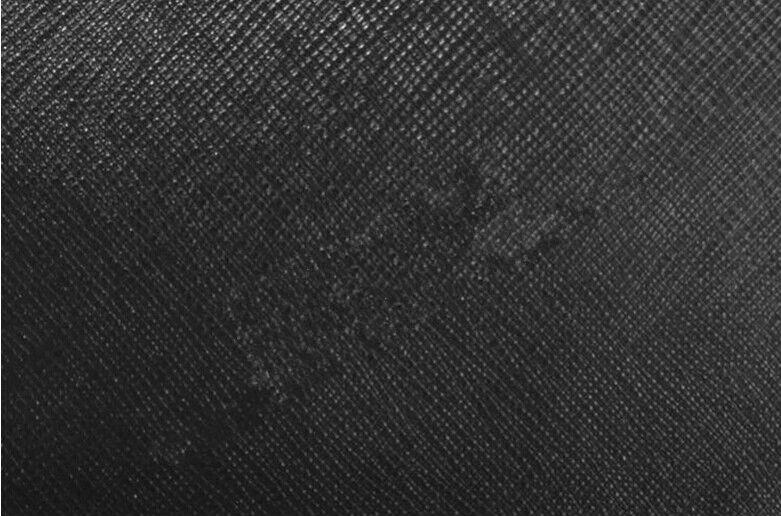 단일 색상 PVC 코팅 용지 검은 색 가죽 패턴 와인 상자 및 책 제본 ...
