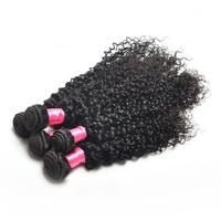 2015 New Products On China Market Afro Kinky Curly 100% Indian Human Hair Extensions