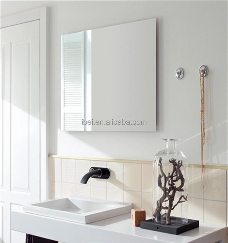 Ibei de montage mural miroir panneau de chauffage infrarouge pour salle de bains radiateur - Miroir salle de bain chauffant ...