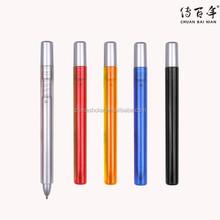 Promotional custom no clip pen