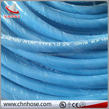 Industrial hose storage colorful low pressure rubber air and water hose
