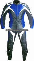 DL-1300-11 Leather Motorbike Suit Leather Motorcycle Suit
