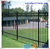 Used black iron fence Kennel