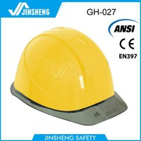 Construction safety plastic helmet
