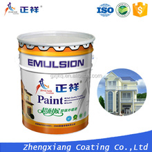SGS certified UV resistant exterior metal wall paint