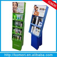 New komori cardboard beauty display for new york store